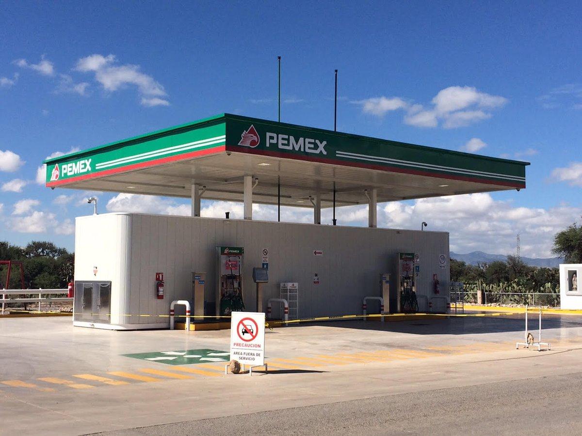 Petróleos Mexicanos arrancan programa piloto de gasolineras rurales de bajo consumo