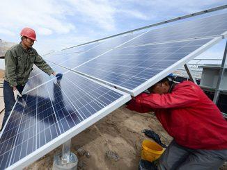 Una provincia China es alimentada 7 días únicamente por energías renovables