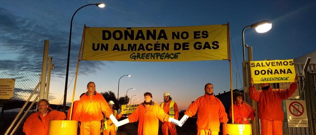 EL PSOE PIDE PARALIZAR LOS PROYECTOS DE GAS EN DOÑANA