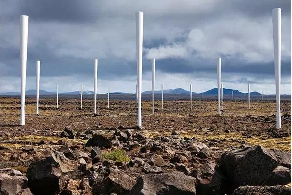 Innovador proyecto Español: Energía eólica sin aspas